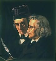Jacob and Wilhelm Grimm's picture