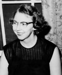 Flannery O'Connor's picture
