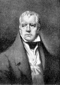 Sir Walter Scott's picture