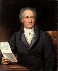 Johann Wolfgang von Goethe's picture