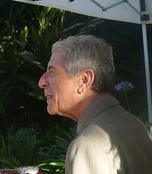 Leonard Cohen's picture