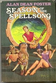 book cover of Season of the Spellsong