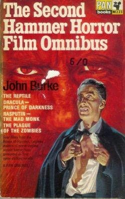book cover of The Second Hammer Horror Film Omnibus