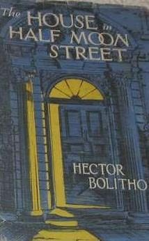 book cover of The House in Half Moon Street