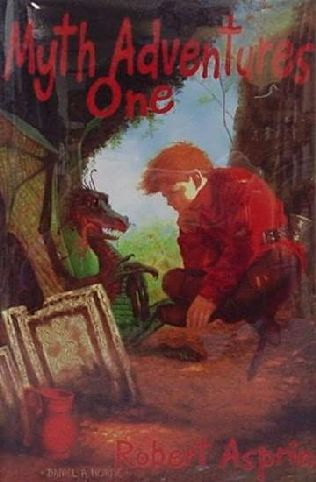 book cover of MYTH Adventures