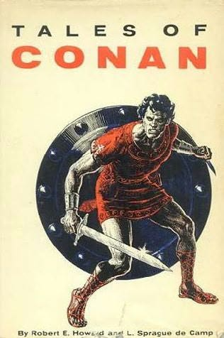 book cover of Tales of Conan