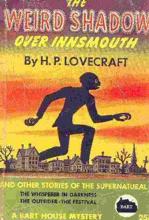 book cover of The Weird Shadow Over Innsmouth