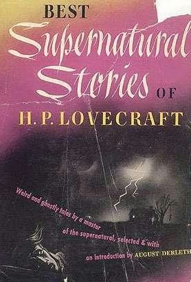 book cover of Best Supernatural Stories of H P Lovecraft
