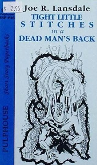 book cover of Tight Little Stitches on a Dead Man\'s Back