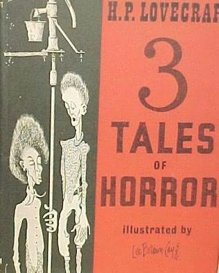 book cover of Three Tales of Horror