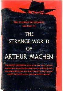 book cover of The Strange World of Arthur Machen