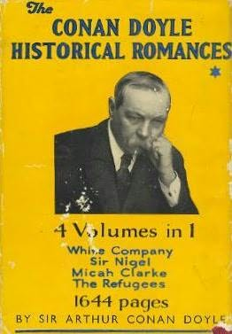 book cover of The Conan Doyle Historical Romances