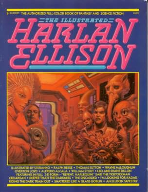 book cover of The Illustrated Harlan Ellison