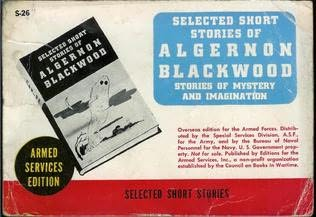 book cover of Selected Short Stories of Algernon Blackwood