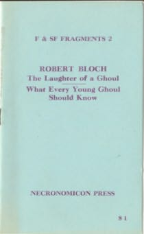 book cover of The Laughter of a Ghoul