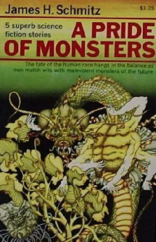 book cover of A Pride of Monsters