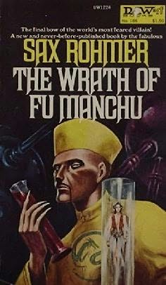 book cover of The Wrath of Fu Manchu