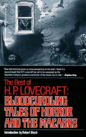 book cover of Bloodcurdling Tales of Horror and the Macabre