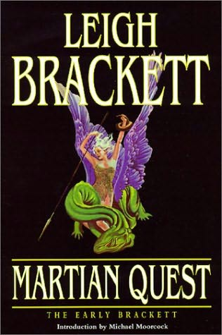 book cover of Martian Quest