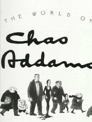 book cover of The World of Charles Addams