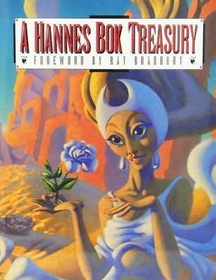 book cover of A Hannes Bok Treasury