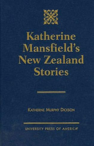 book cover of Katherine Mansfield\'s New Zealand Stories