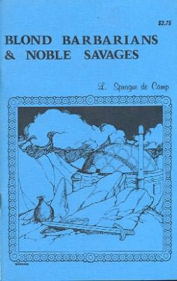 book cover of Blond Barbarians and Noble Savages