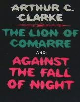 book cover of Lion of Comarre / Against the Fall of Night