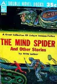 book cover of The Mind Spider