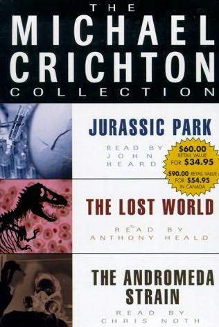 book cover of The Michael Crichton Collection
