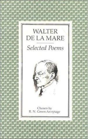 book cover of Selected Poems of Walter De La Mare