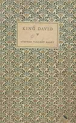 book cover of King David