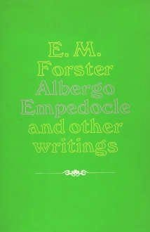 book cover of Albergo Empedocle and Other Writings