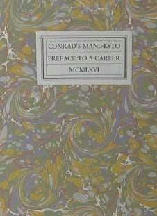 book cover of Conrad\'s Manifesto