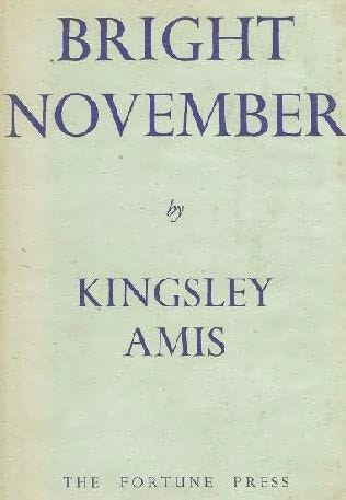 book cover of Bright November