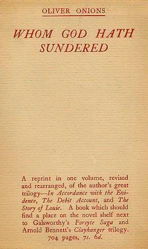 book cover of Whom God Hath Sundered