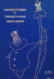 book cover of Caricatures of Twenty-Five Gentlemen