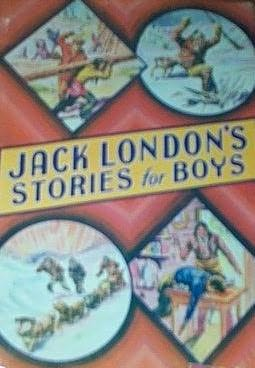 book cover of Jack London\'s Stories for Boys