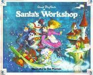 book cover of Enid Blyton\'s Santa\'s Workshop