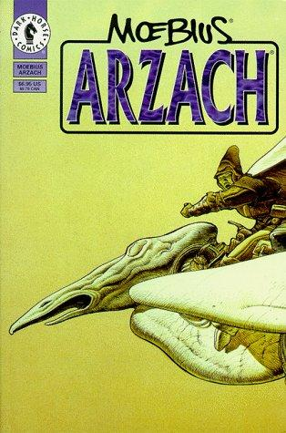 book cover of Arzach and Other Fantasy Stories