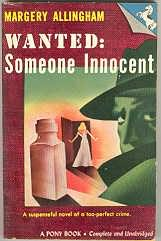 book cover of Wanted: Someone Innocent
