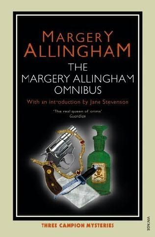 book cover of The Margery Allingham Omnibus