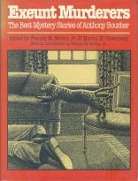 book cover of Exeunt Murderers