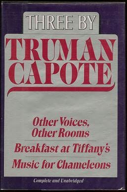 book cover of Three By Truman Capote
