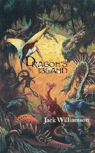 book cover of Dragon\'s Island and Other Stories