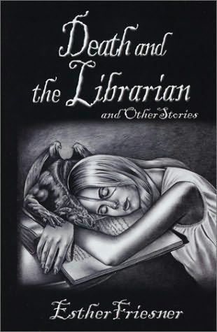 book cover of Death and the Librarian