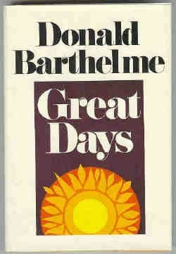 book cover of Great Days