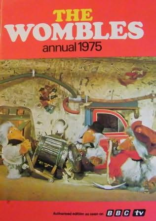 book cover of The Wombles Annual 1975