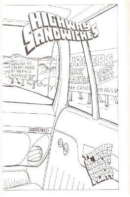 book cover of Highway Sandwiches
