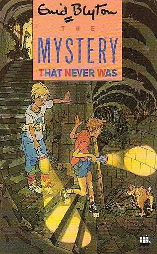book cover of The Mystery That Never Was